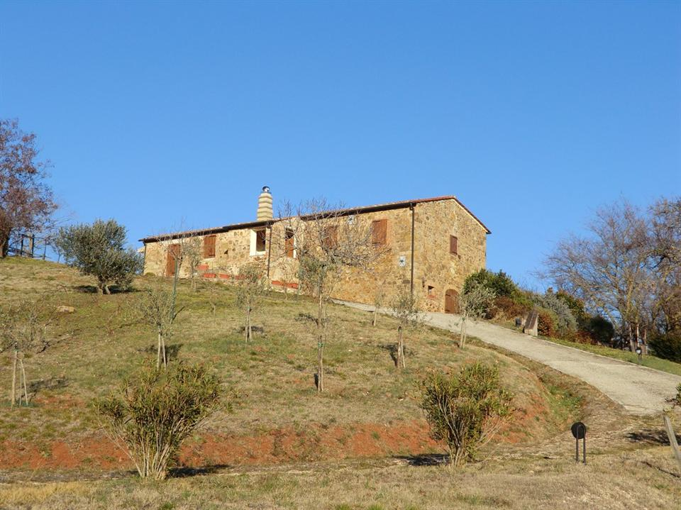 Single Family for Sale at Typical stone farmhouse dating from the eighteenth in Maremma Saturnia, Grosseto Saturnia, _ Italy