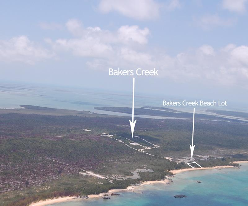 Additional photo for property listing at Beach Lot Baker's Creek Beach Lot - Abaco Marsh Harbour, Abaco . Bahamas