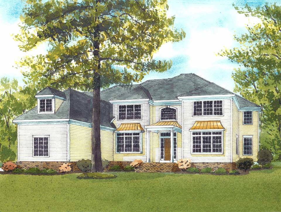 Additional photo for property listing at 18 White Pine Ln Princeton, NJ (Rendering-Builder's Work) Princeton, Нью-Джерси Соединенные Штаты