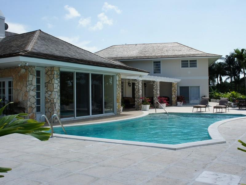 sold property at A Little Bit of Heaven, Lyford Cay, Nassau, Bahamas
