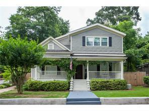 Single Family for Active at 99 Flora Avenue NE Atlanta, Georgia 30307 United States