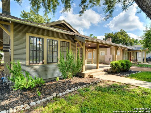 Residential for Sale at 339 Pershing Ave 339 Pershing Ave San Antonio, Texas 78209 United States