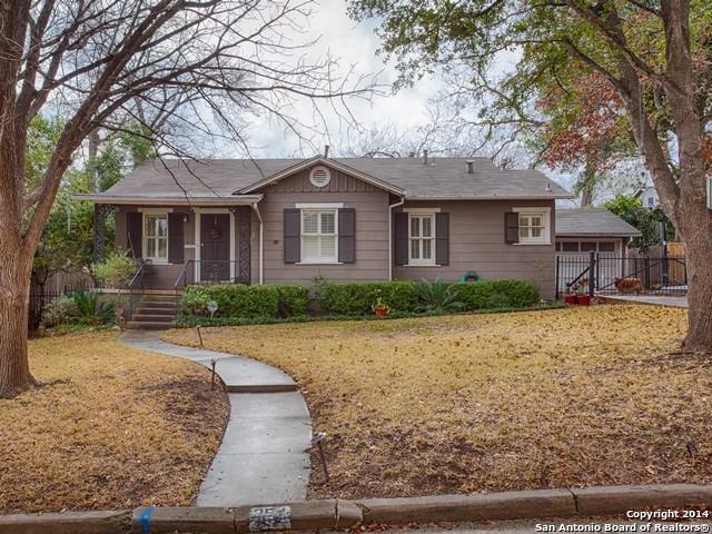 Residential for Sale at 254 E Fair Oaks Place 254 E Fair Oaks Place San Antonio, Texas 78209 United States