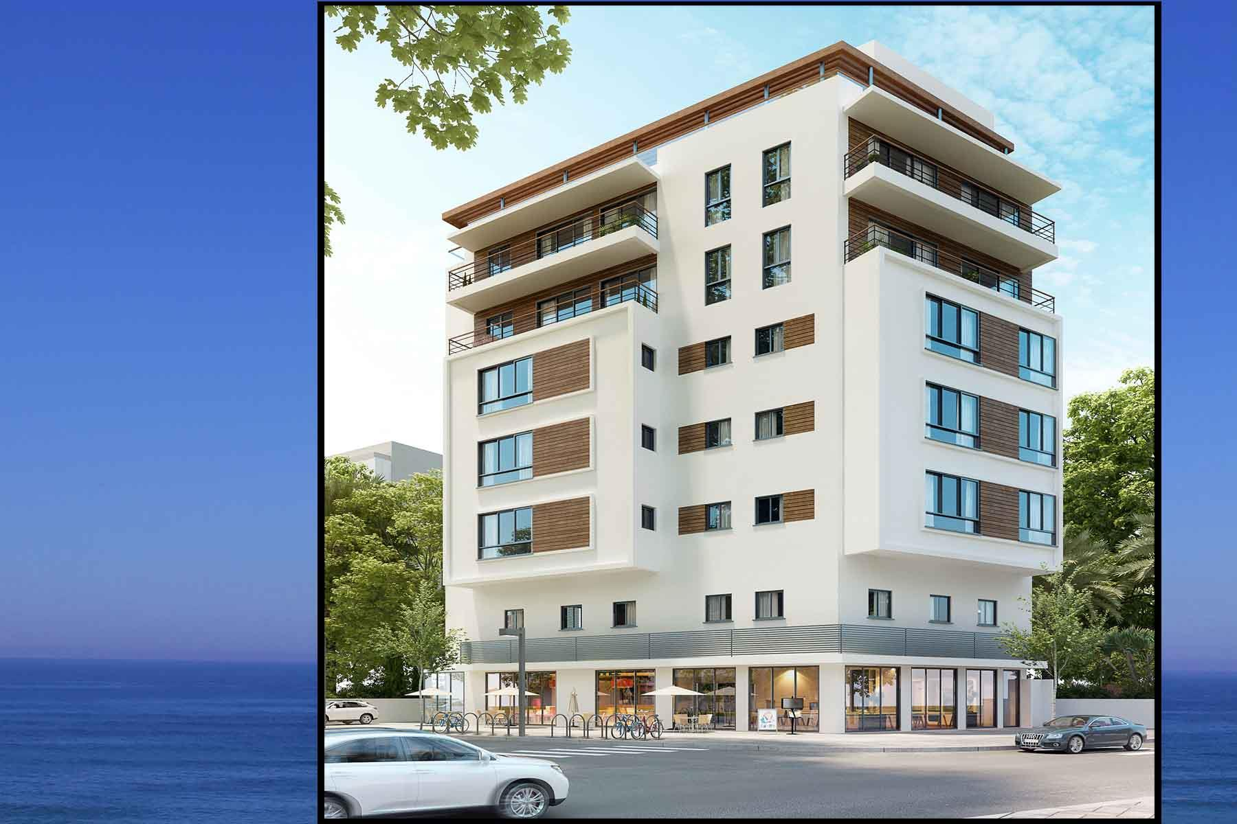 'Apartments / Flats' building or community at 'Exclusive New Development in the Heart of TLV Yermiyahu 22 Tel Aviv, Israel 6259406 Israel'