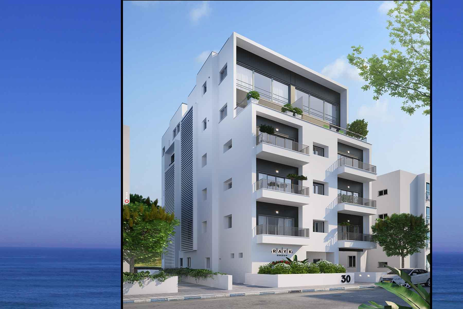 'Apartments / Flats' building or community at 'Refined New Project in Central Location Gordon 30 Tel Aviv, Israel 6343811 Israel'