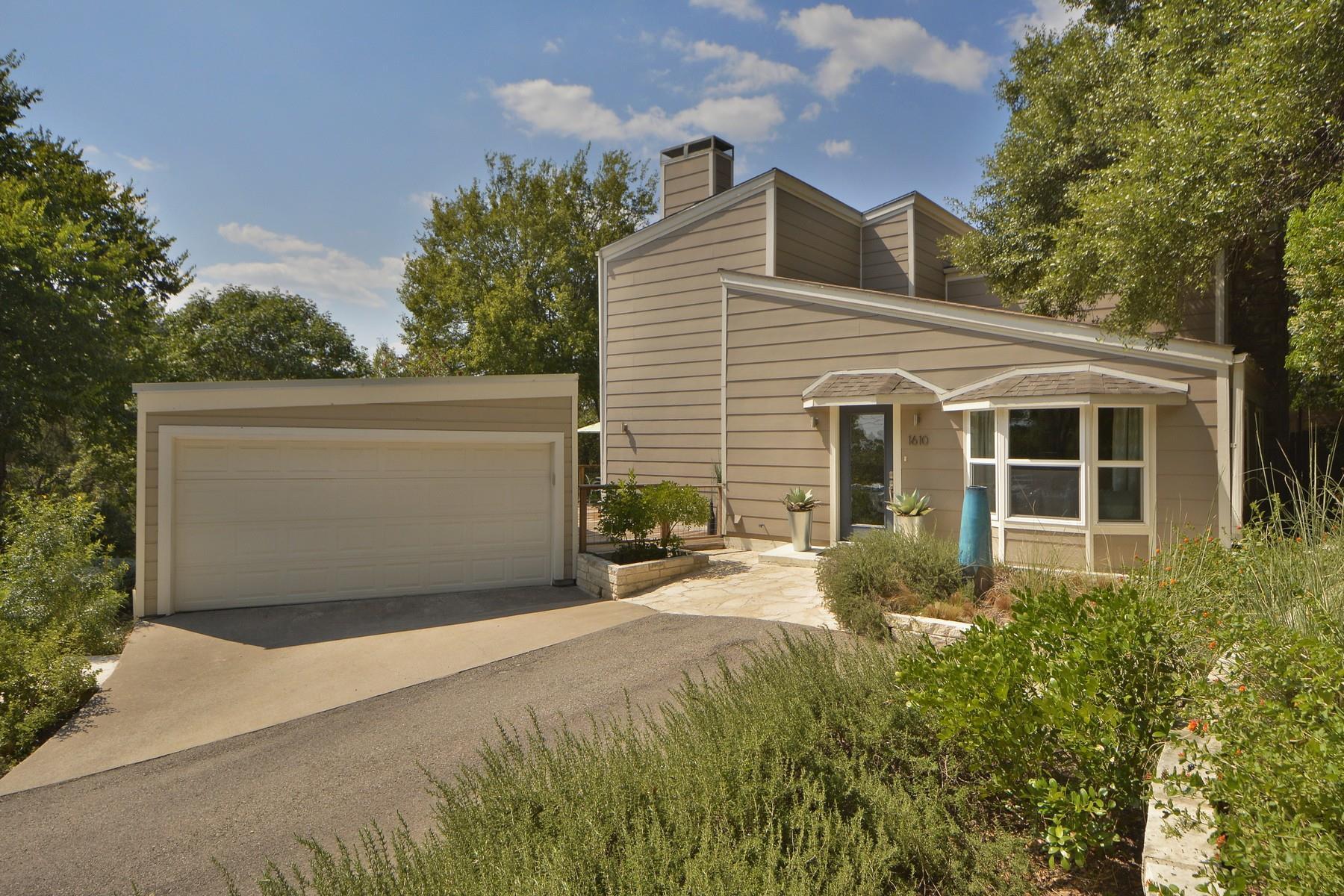 Residencial por un Venta en 1610 Wild Basin Street 1610 Wild Basin Street West Lake Hills, Texas 78746 Estados Unidos