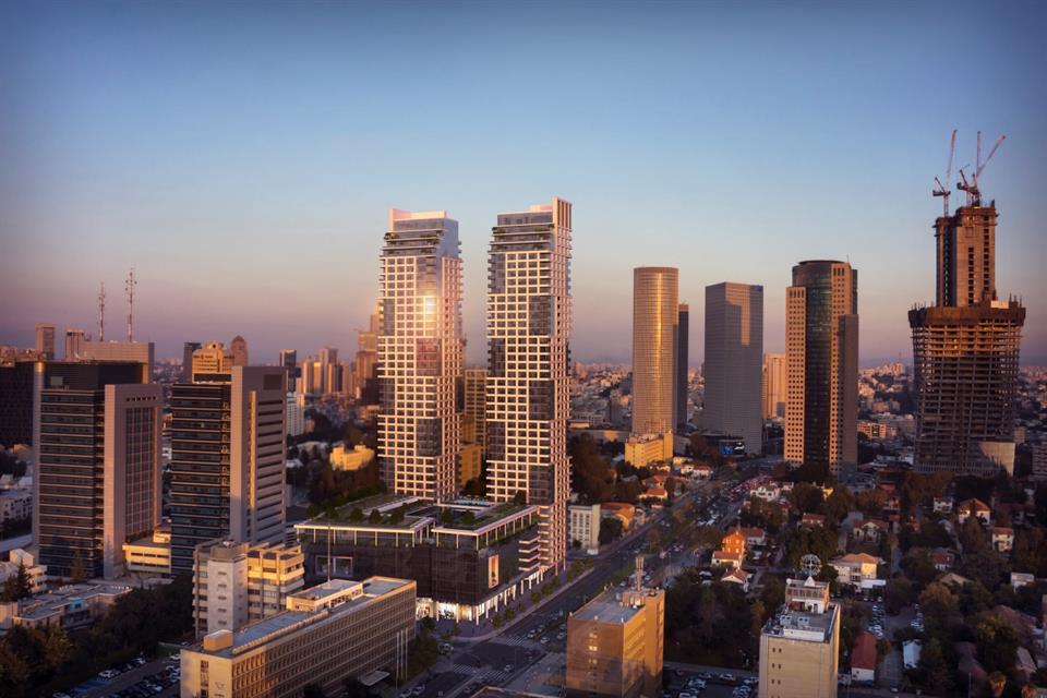'Building' building or community at 'Luxury Project in the cultural Heart of Tel Aviv Kaplan Tel Aviv, Israel 6473402 Israel'