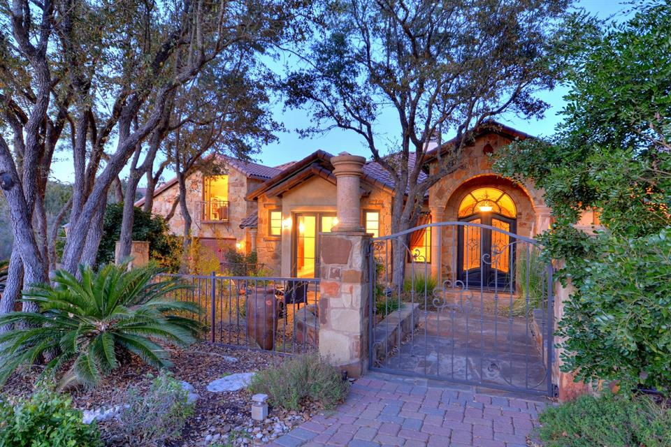 Single Family Home for Sale at Spectacular Mediterranean Home 4801 Paraiso Pkwy Austin, Texas 78738 United States