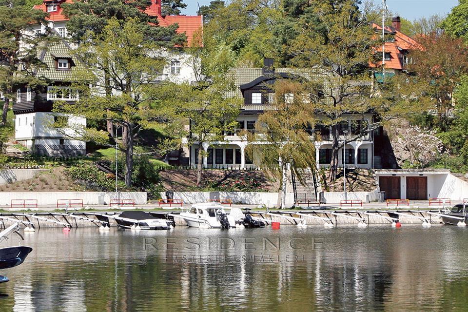 Single Family Home for Sale at Svalnäsvägen 5 Djursholm, Stockholm,18263 Sweden