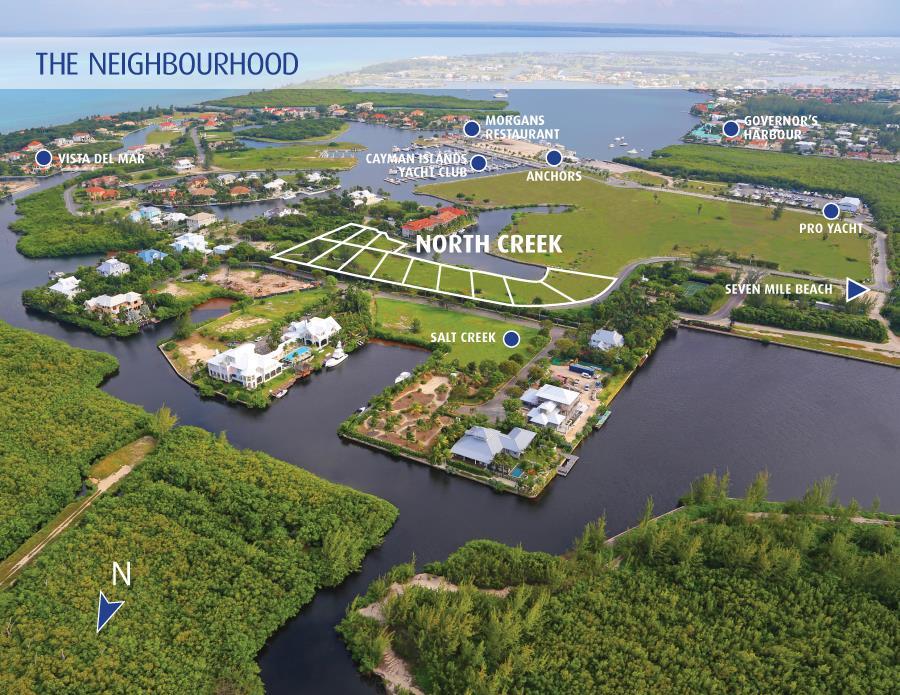 Land for Sale at North Creek Lot #11 Yacht Club Cayman Islands, Grand Cayman Cayman Islands