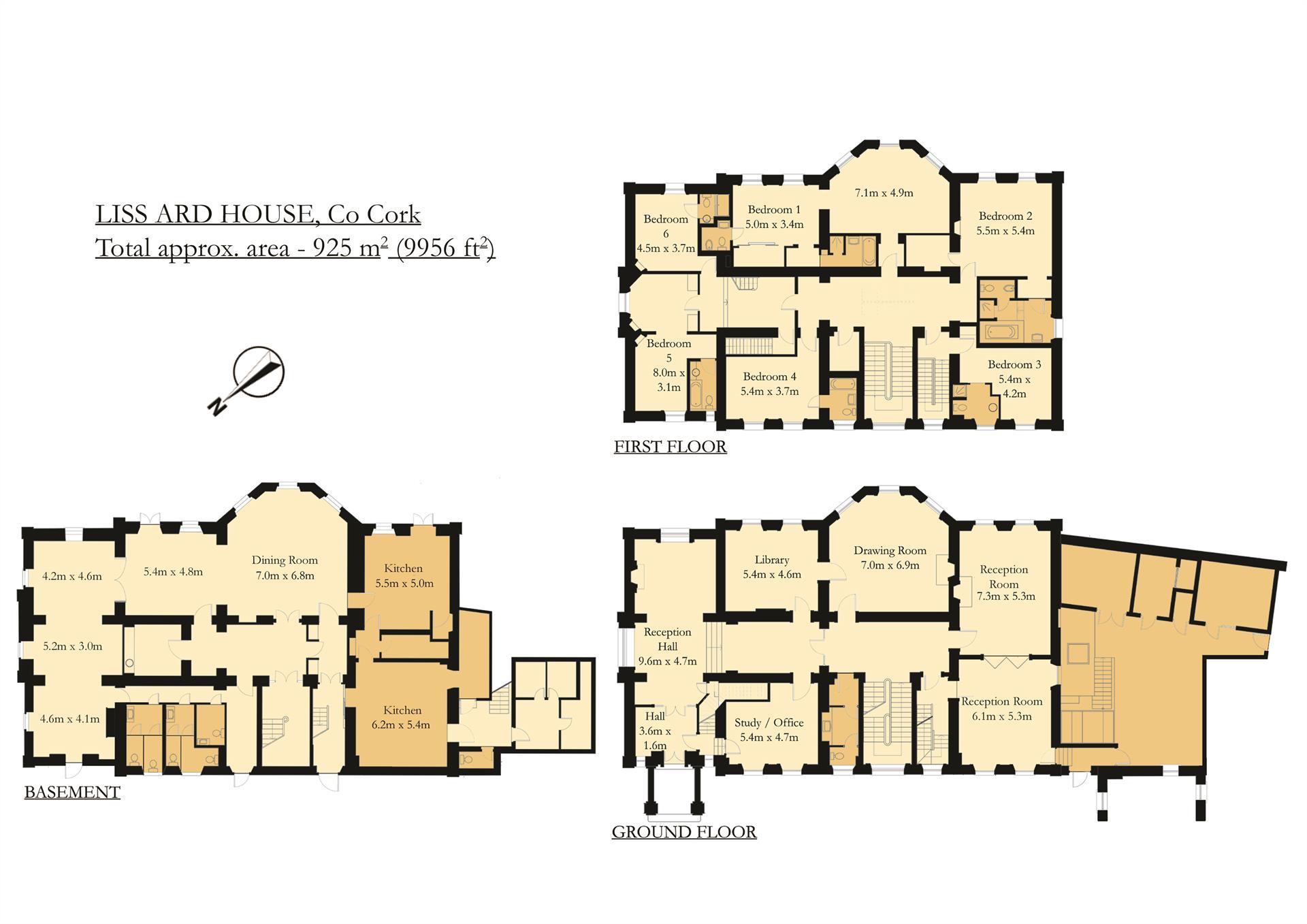 Estate for Sale at Liss Ard Estate, Skibbereen, County Cork Ireland