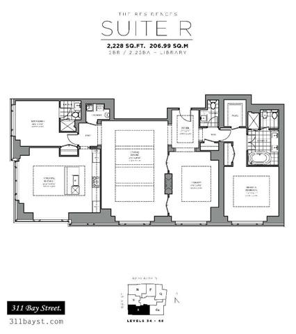 Additional photo for property listing at 311 Bay St 4805 311 Bay St 4805 Toronto, Онтарио,M5H4G5 Канада