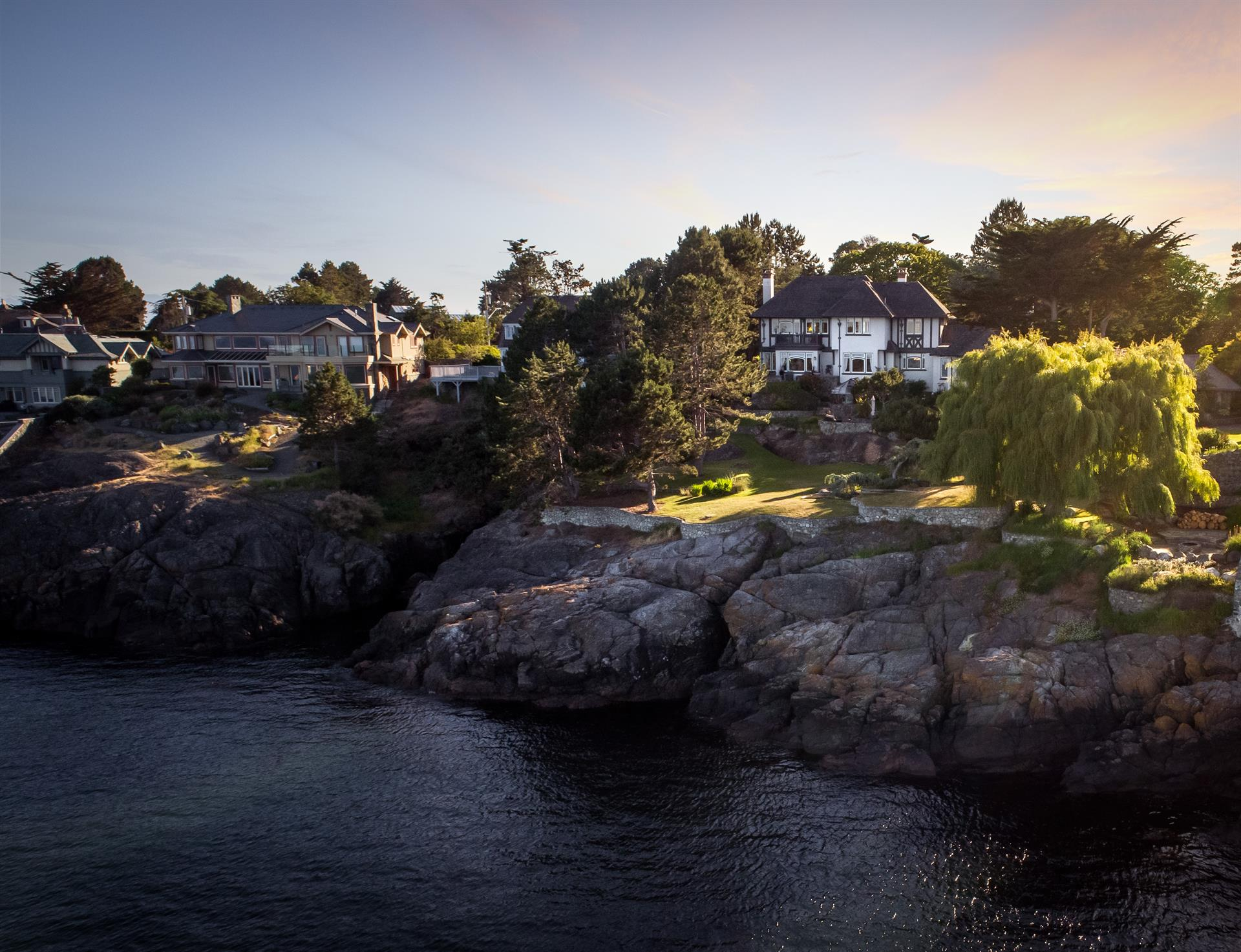 Single Family Home for Sale at Luxuriously restored Oceanfront Estate Victoria, British Columbia,Canada
