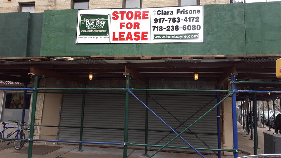 Commercial for Rent at Store Lease /Bay Ridge 6823 3rd Avenue Brooklyn, New York 11209 United States