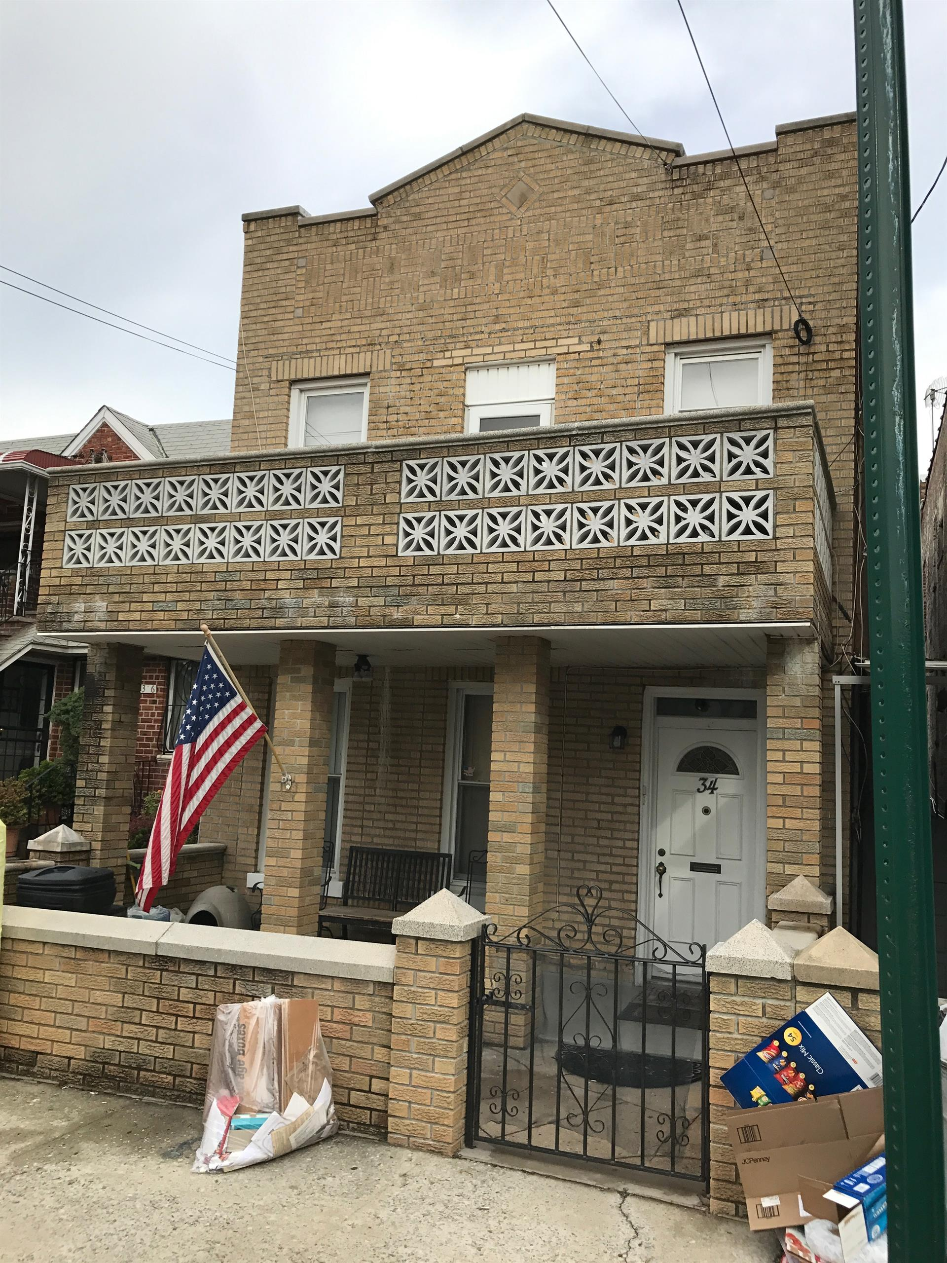 Multi Family for Sale at 34 Bay 49th Street Brooklyn, New York 11214 United States