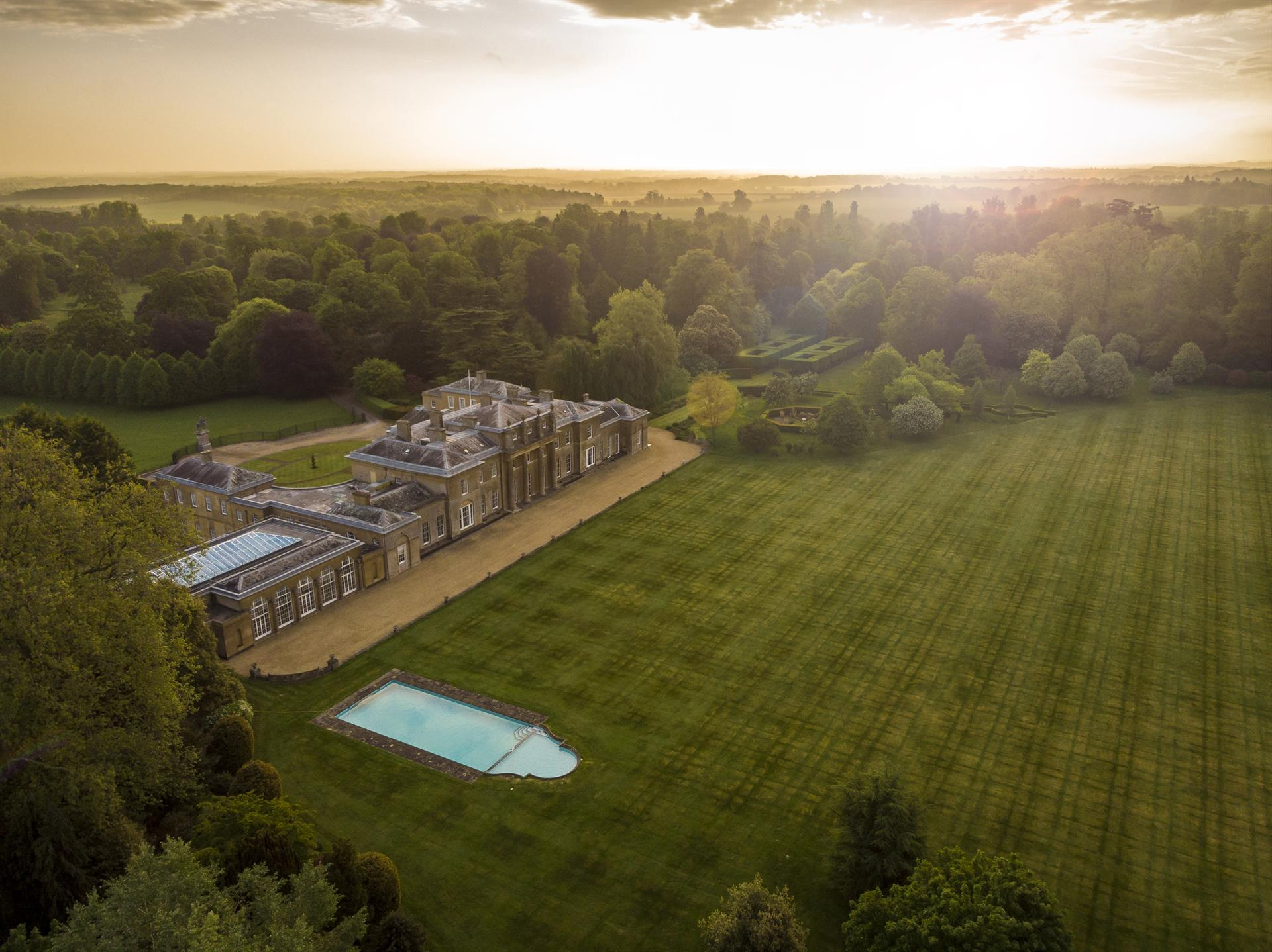Estate For Sale At Hackwood Park England