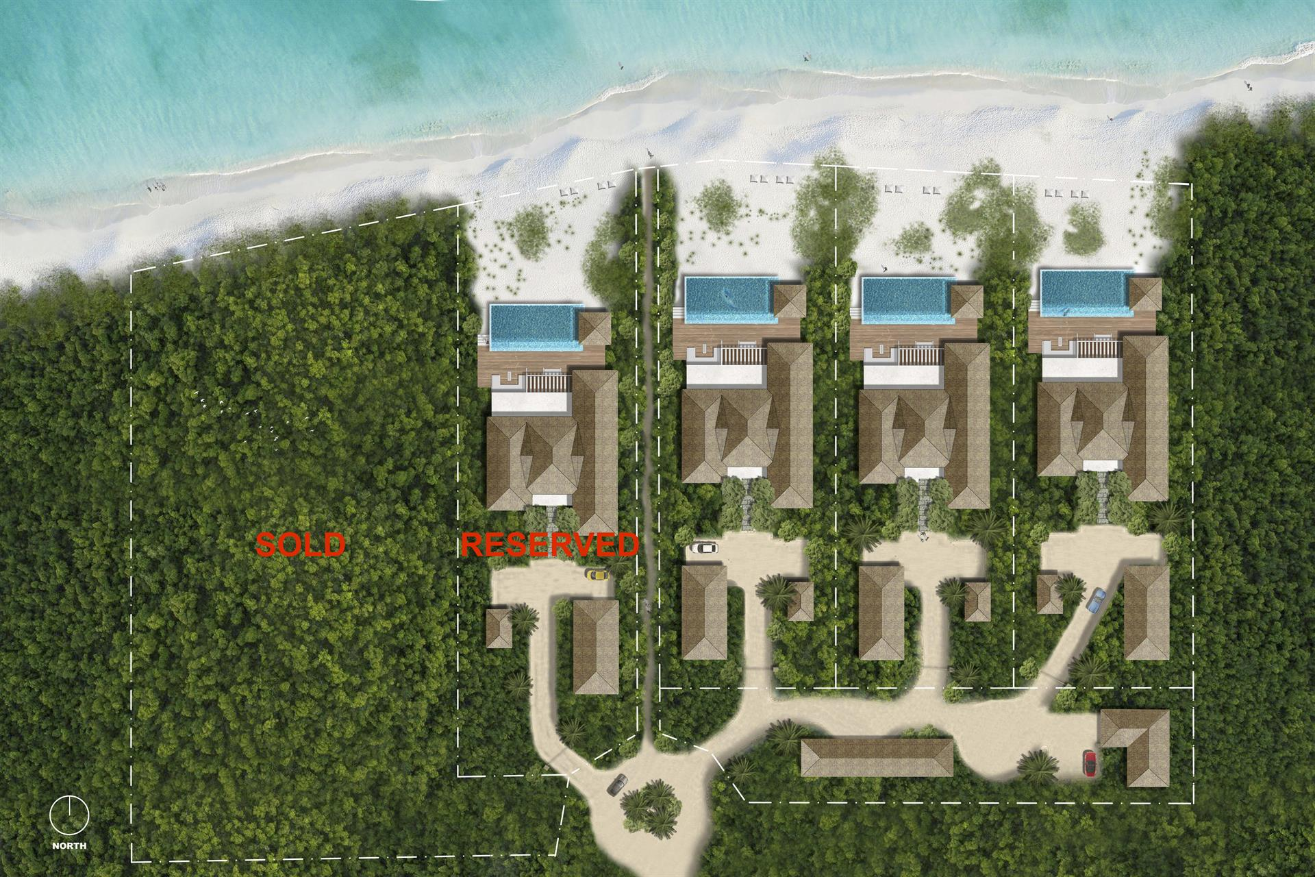 Additional photo for property listing at Grace Bay Beach Villa #4  Grace Bay, 프로비덴시알레스섬,BWI 터크스 케이커스 제도