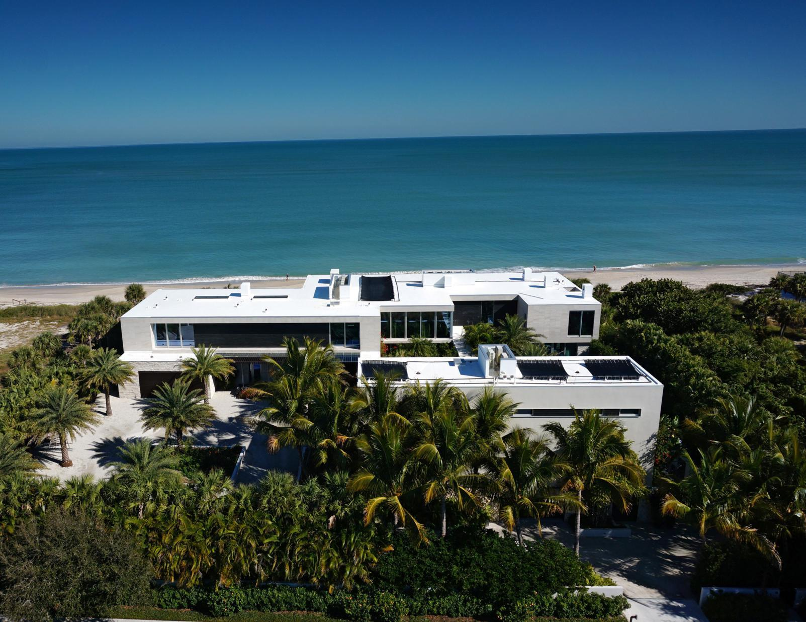 Estate For Sale At Oceanfront Modern Marvel 3700 OCEAN DRIVE Vero Beach,  Florida,32963