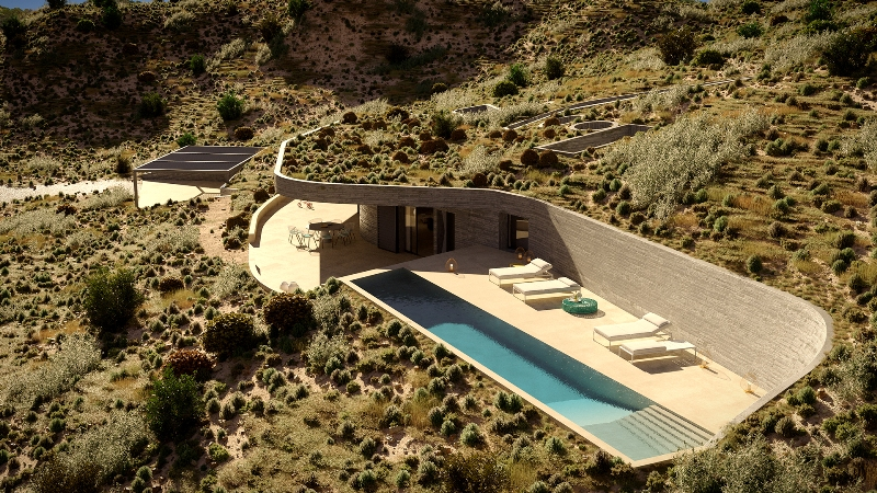 The Rock Milos A Luxury Home For Sale In Milos Cyclades