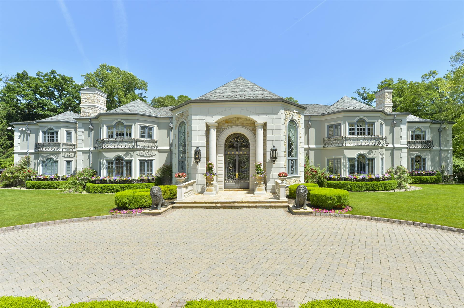 Wonderful Single Family Home For Sale At Palatial Masterpiece Saddle River, New  Jersey,07458 United