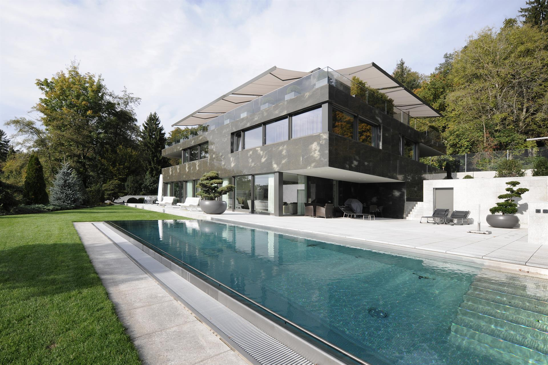 Superior Single Family Home For Sale At Spacious Living With Highest Privacy  Kusnacht, Zurich,8700