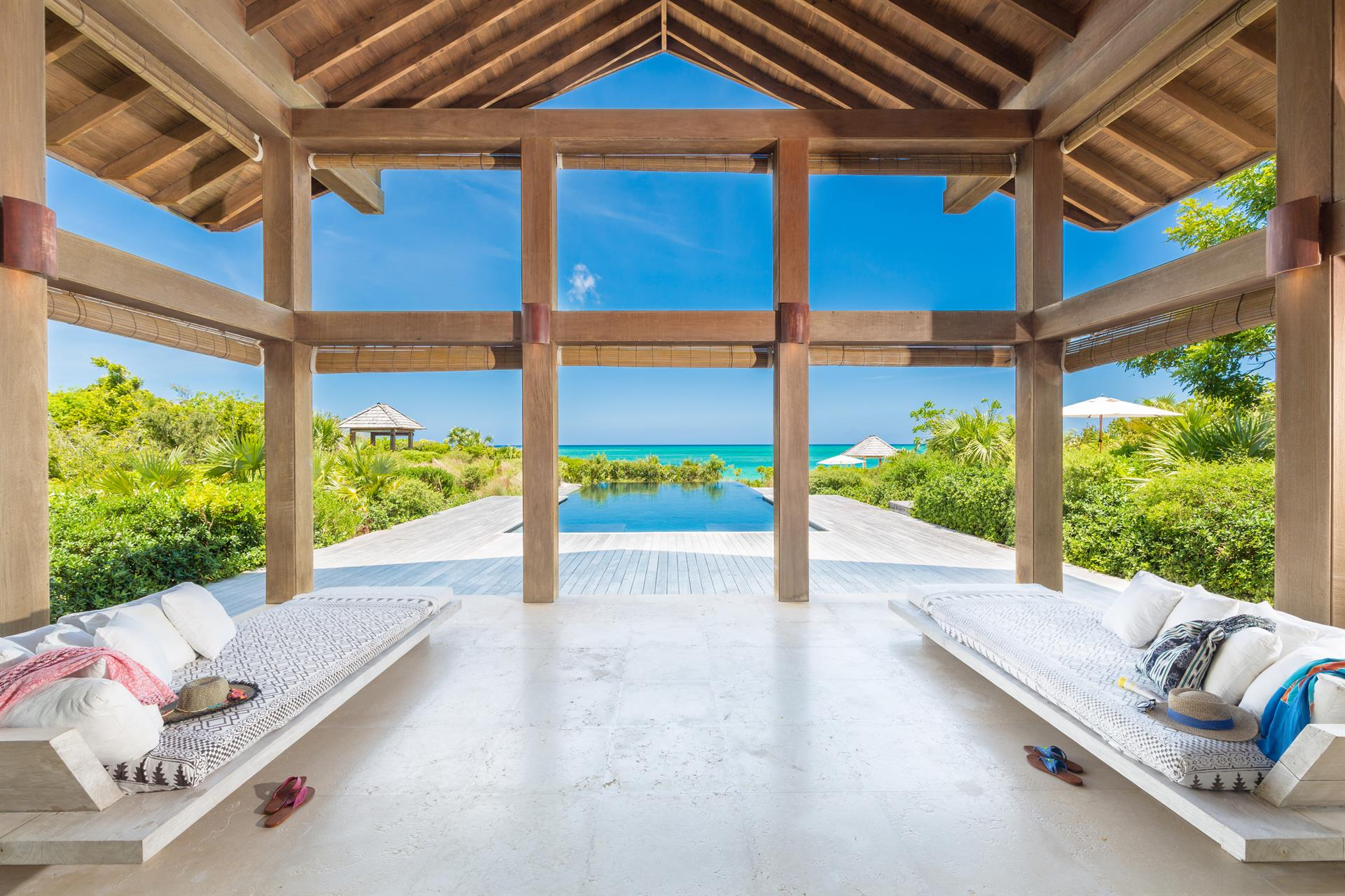 Point House: a luxury home for sale in , , Parrot Cay ...