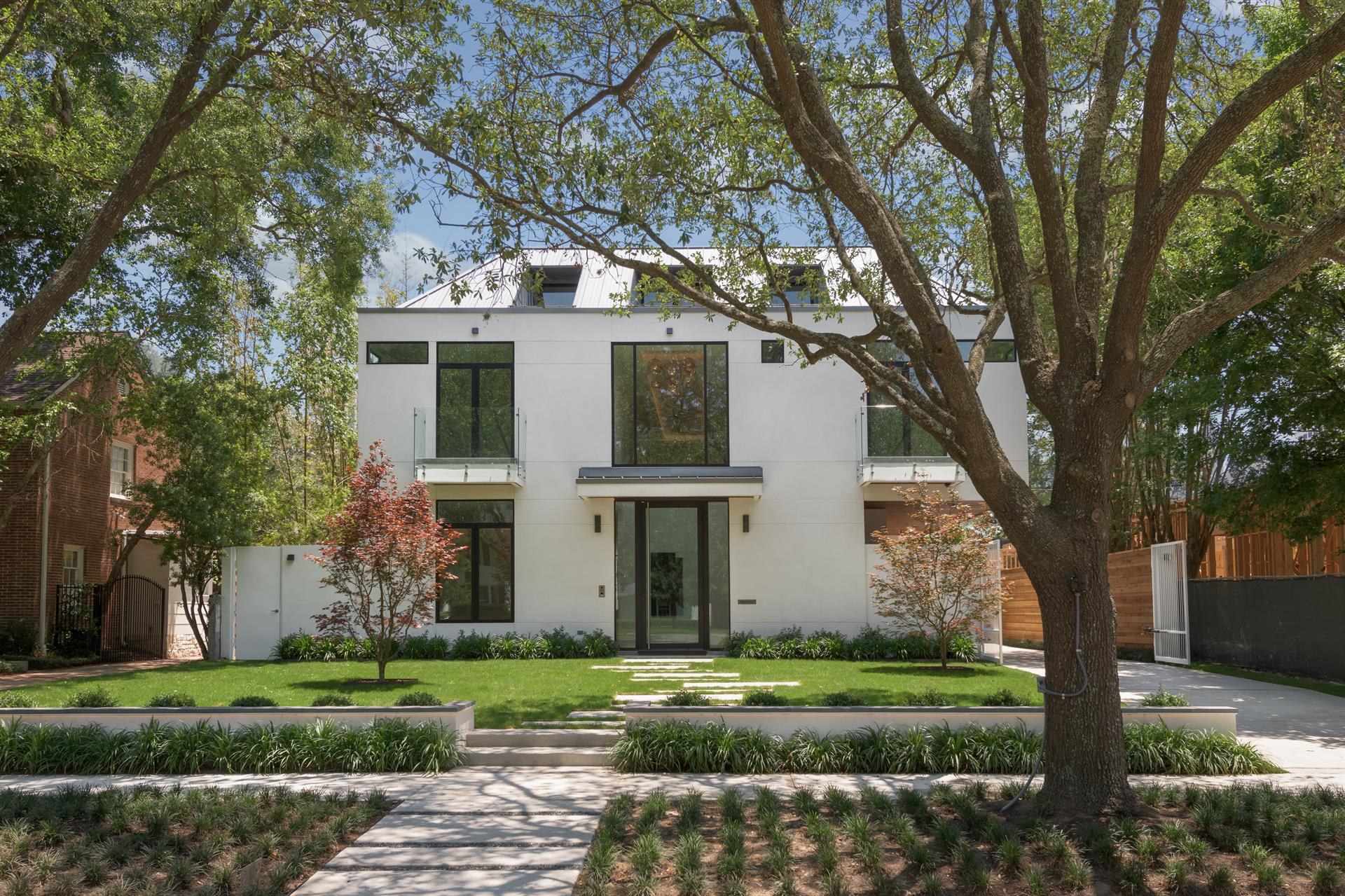 Single Family Home For Sale At A True Modern Masterpiece In The Heart Of  River Oaks