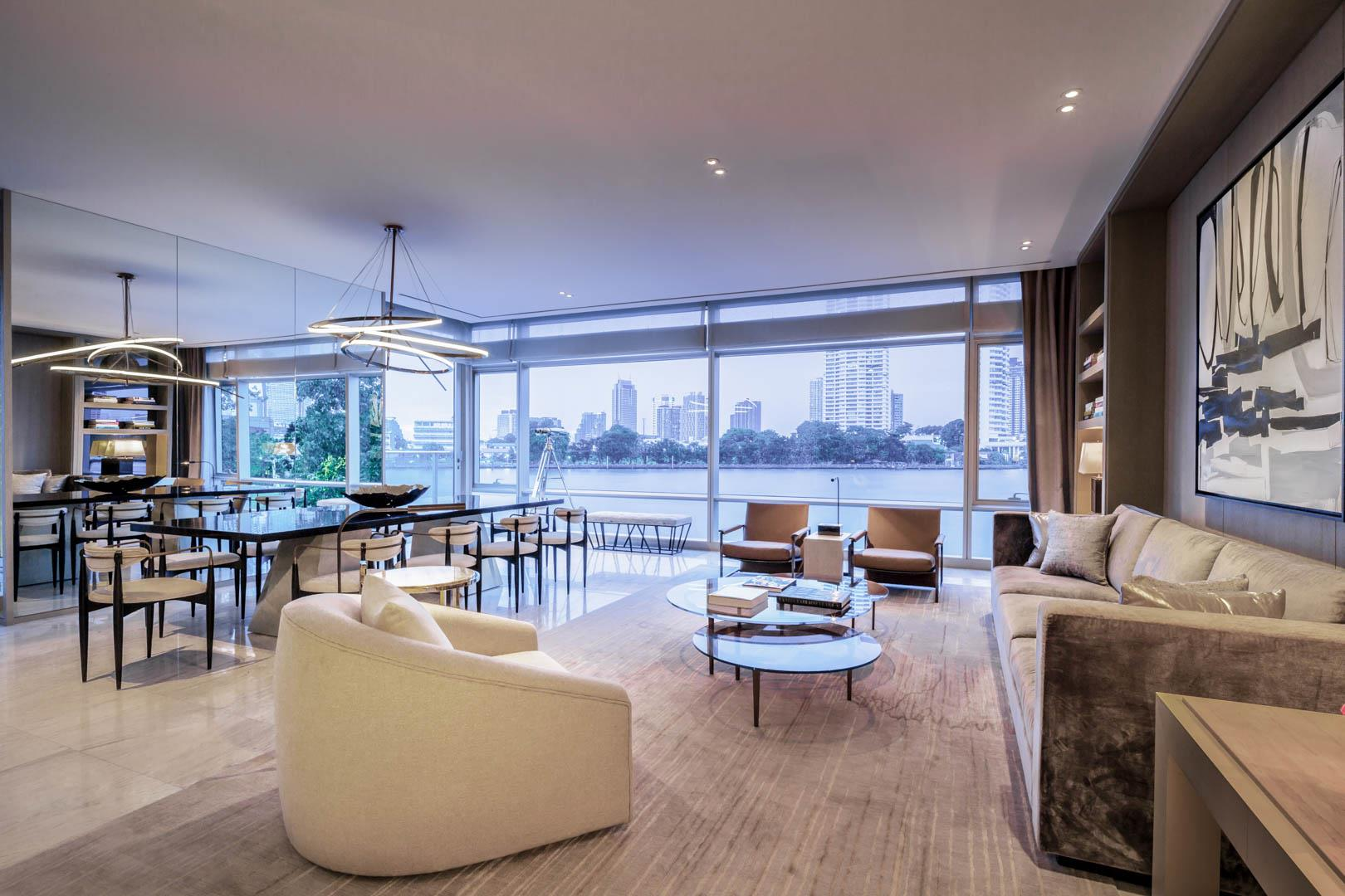 Four Seasons Private Residences Bangkok 4 Bedroom Duplex A Luxury Home For Sale In