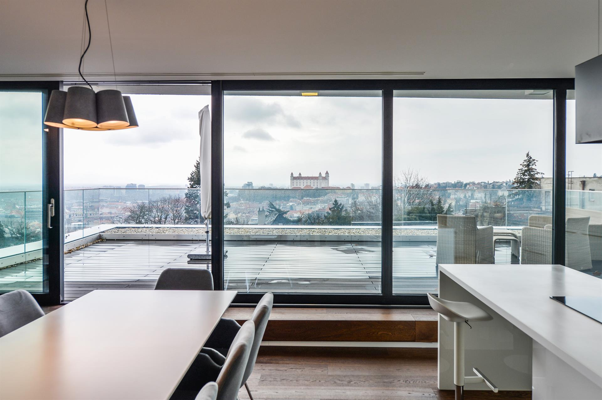 Contemporary Minimalist Apartment A Luxury Residence Apartment For Sale In Old Town Bratislava Bratislavsky Christie S International Real Estate
