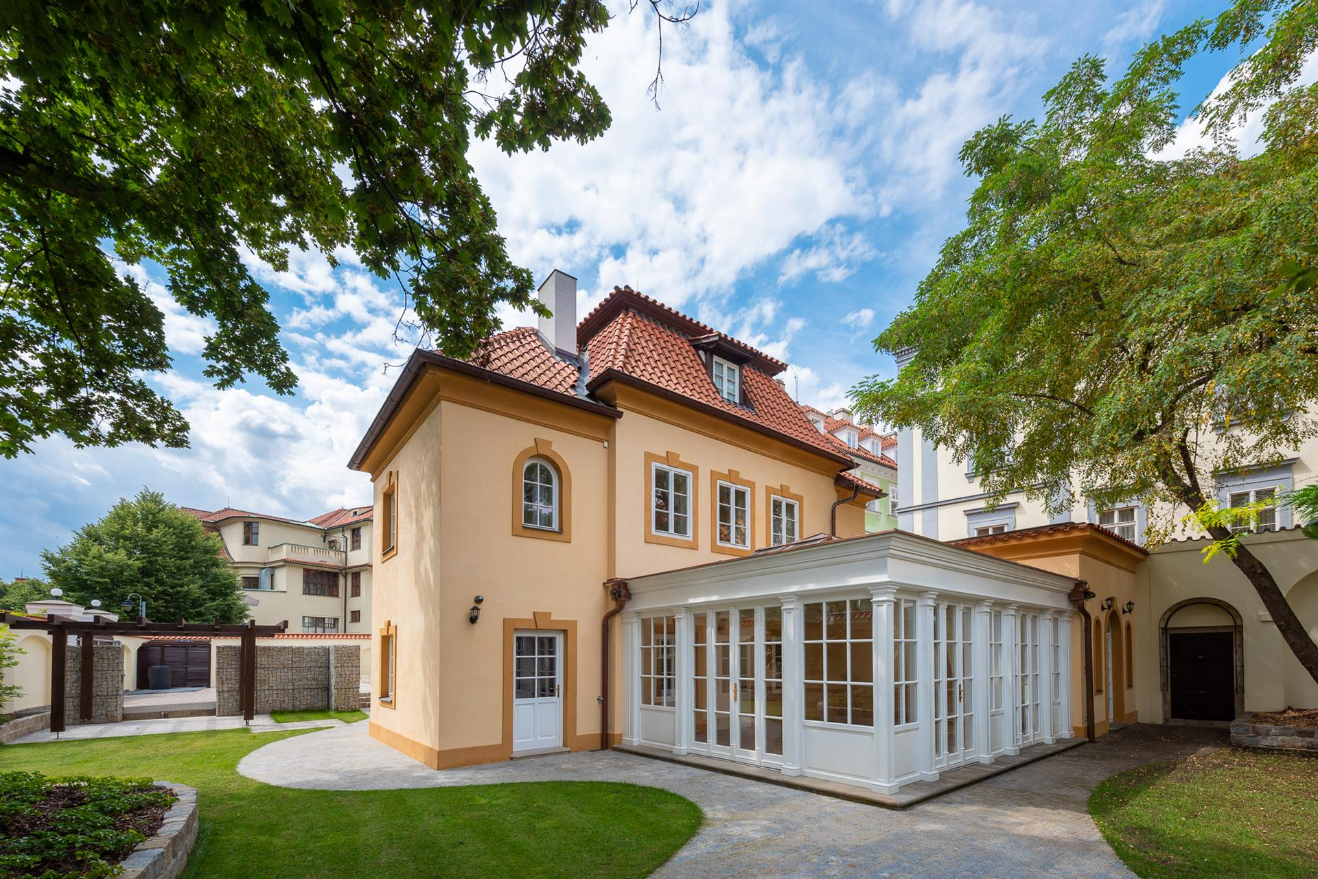 Single Family Home For Sale At Grand Lesser Town Baroque Villa Prague 1,  Czech Republic